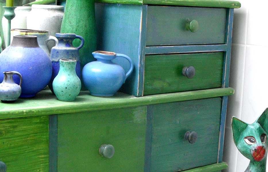 Wohnen mit der Farbe Grün - Farben Bedeutung