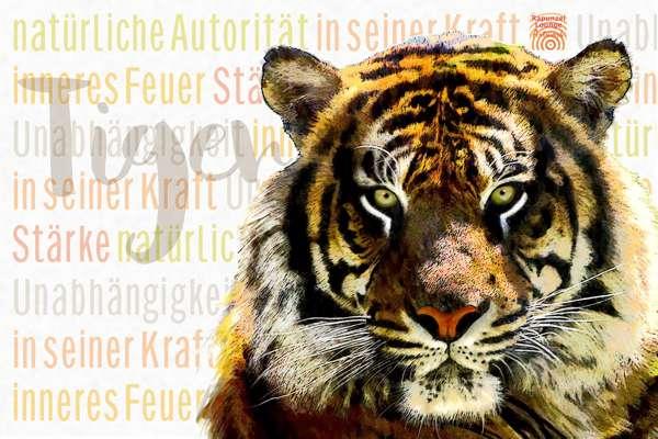 Das Wesen vom Krafttier Tiger