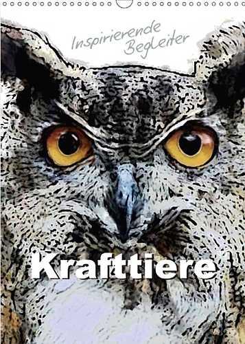 Wandkalender 2018 Krafttiere