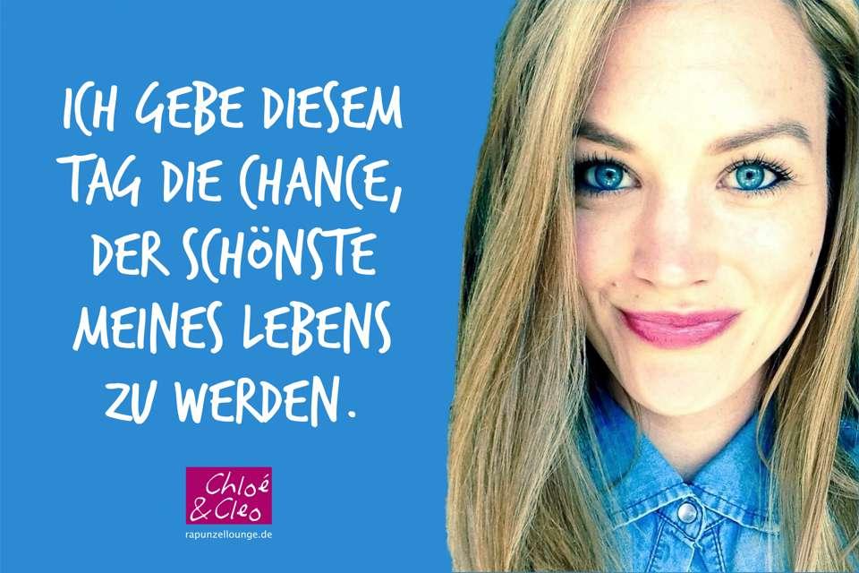 Frauen Sprüche Chloé: Schönste Tag