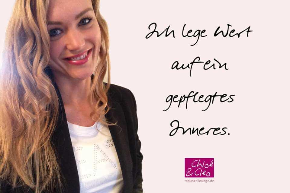 Frauen Sprüche Chloe: Gepflegtes Inneres