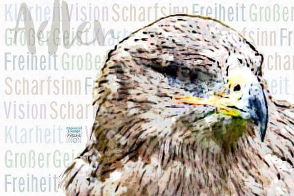Krafttier Adler Wesen bei www.rapunzellounge.de