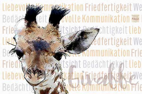 Friedfertiges Krafttier Giraffe bei www.rapunzellounge.de