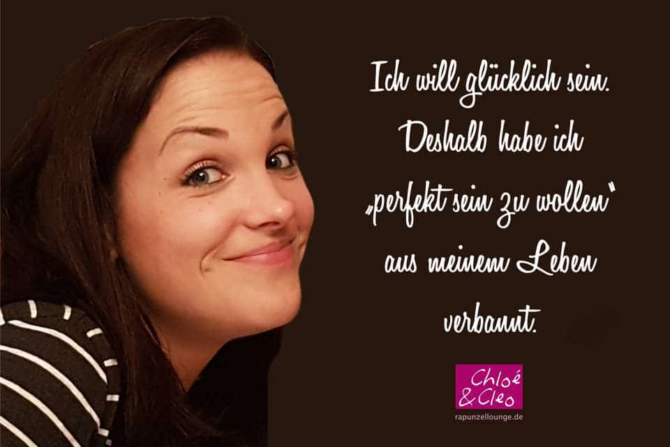 Frauen Sprüche Cleo: Ich will glücklich sein