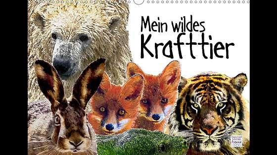 Krafttiere Kalender Mein wildes Krafttier