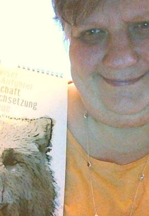 Kalender Krafttiere Gewinnerin Kathi
