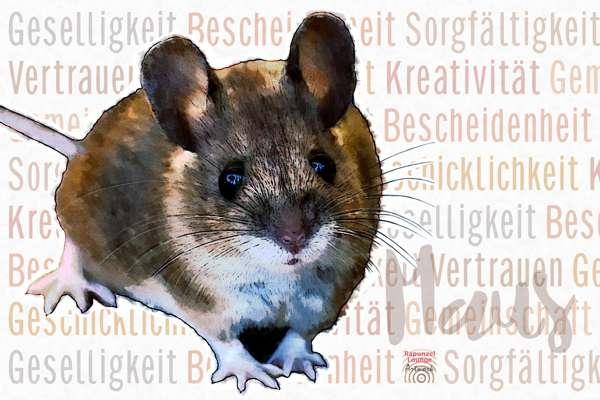 Das Wesen vom Krafttier Maus