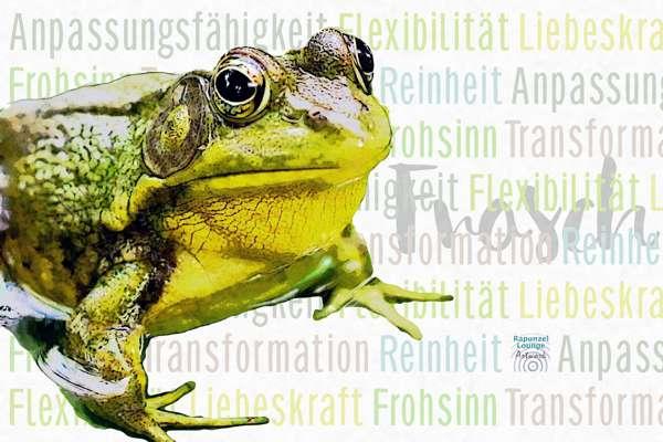 Das Wesen vom Krafttier Frosch