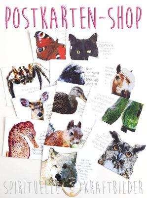 Postkarten-Shop Spirituelle Kraftbilder